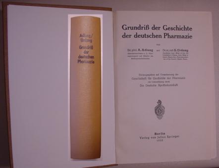 Adlung/Urdang - Grundriß der Geschichte der deutschen Pharmazie