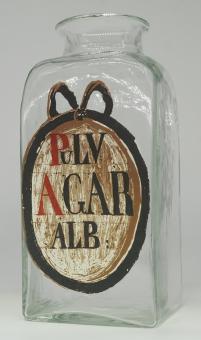 Apotheker-Binderandglas im Stil des 18 Jh., Replik