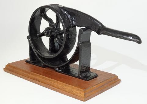 Korkpresse mit Rad-Mechanik, 19. Jh.