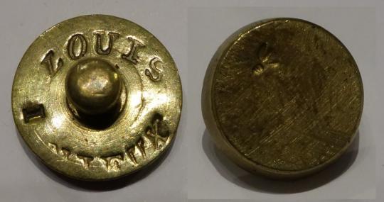 Münzgewicht Louis vieux, Courseul, Namur, um 1810.