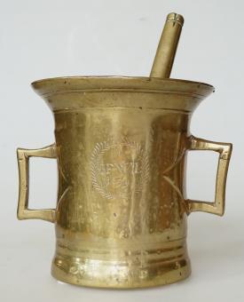 "Barock-Mörser, datiert ""1699"", ""IFWL"""