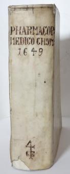 Pharmacopoeia Medico Chymica, Johann Schröder, 1649