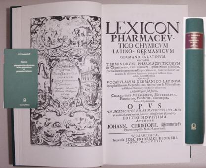 J.C. Sommerhoff - Lexicon Pharmaceutico-Chymicum